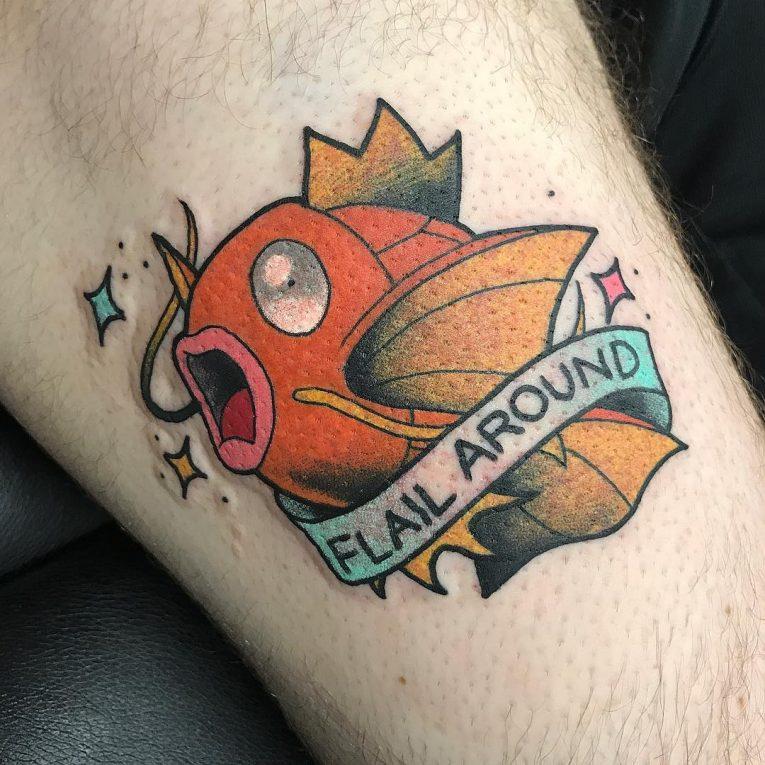 Pokemon Tattoo 100