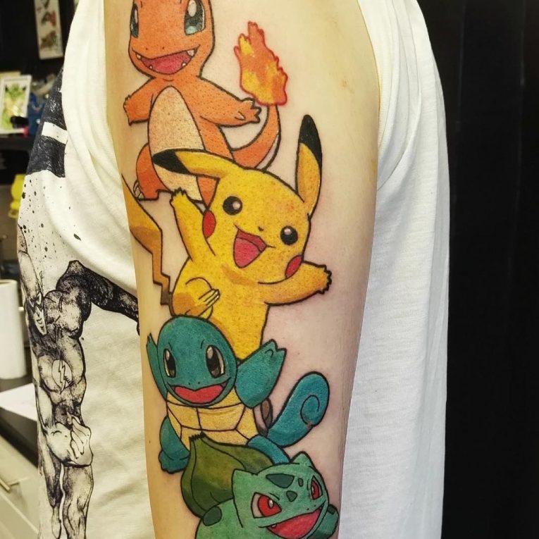 Pokemon Tattoo 101