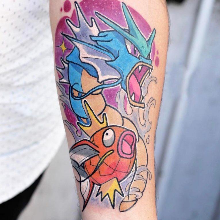 Pokemon Tattoo 104