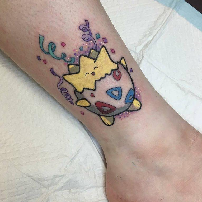 Pokemon Tattoo 106