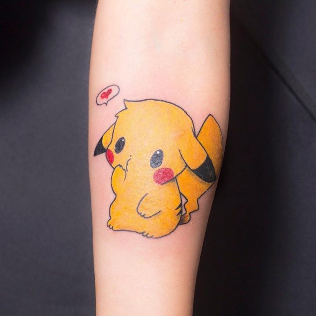 Pokemon Tattoo 88