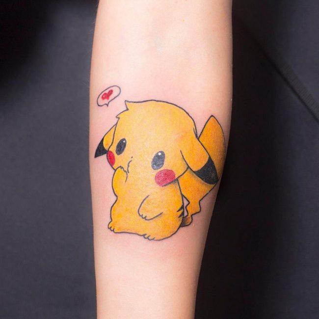 Pokemon Tattoo 88