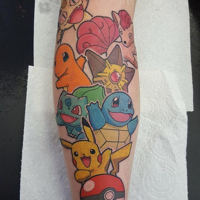 Pokemon Tattoo 93