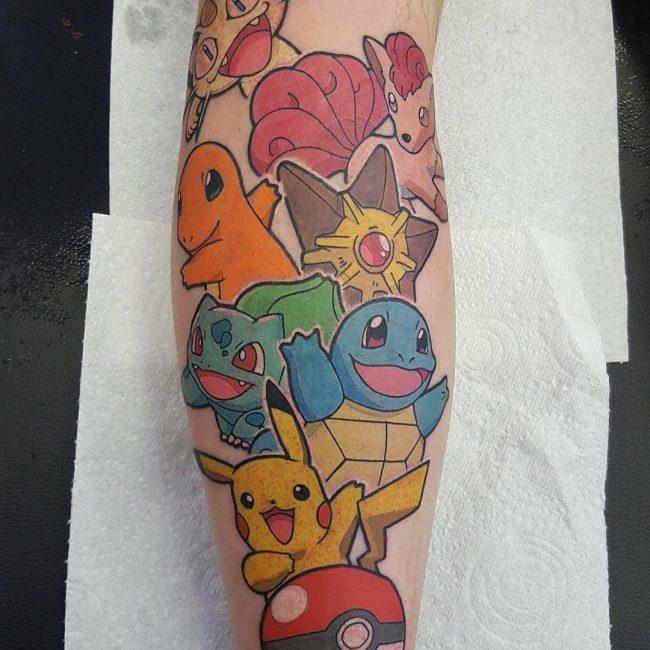 Pokemon Tattoo 93