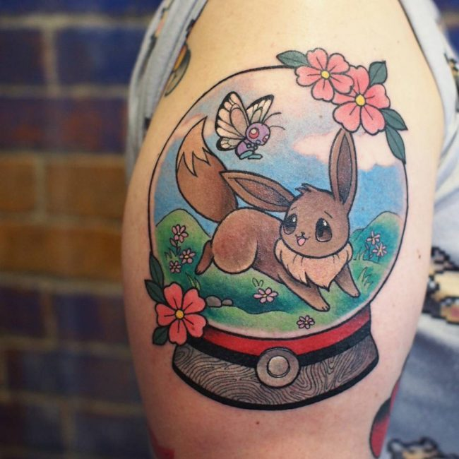Pokemon Tattoo 95