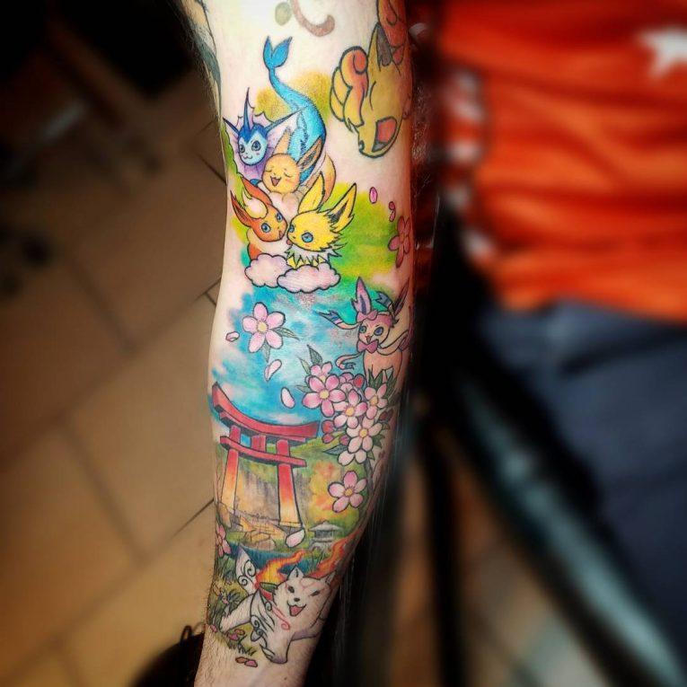 Pokemon Tattoo 97