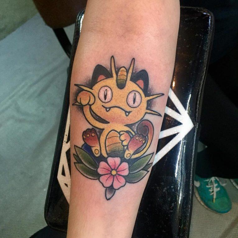 Pokemon Tattoo 99