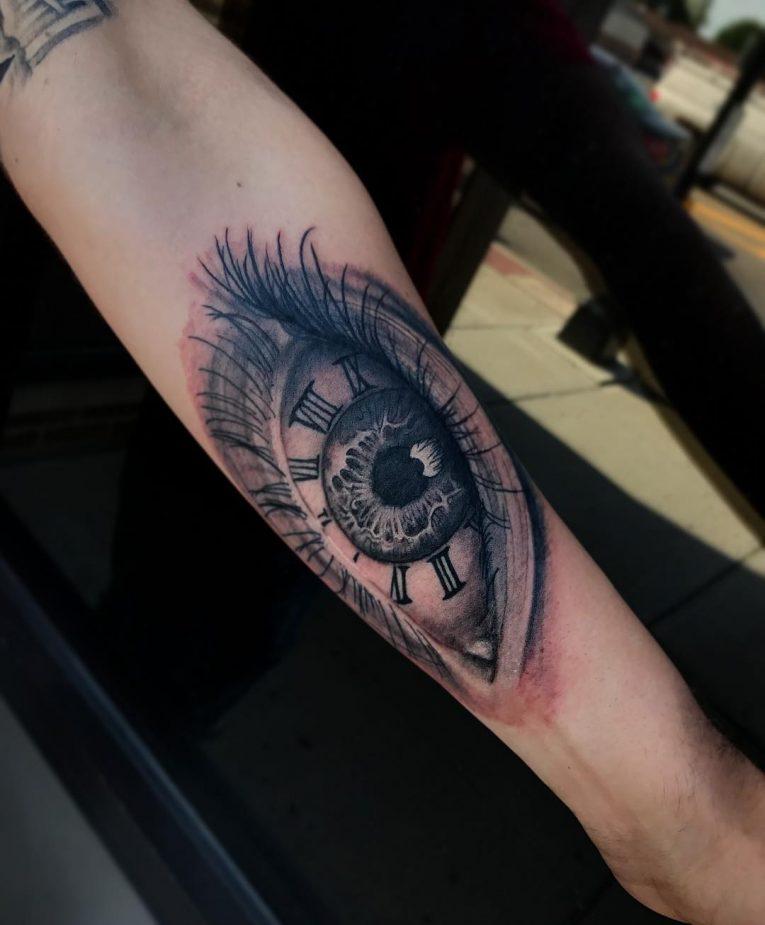 Roman Numeral Tattoo 62