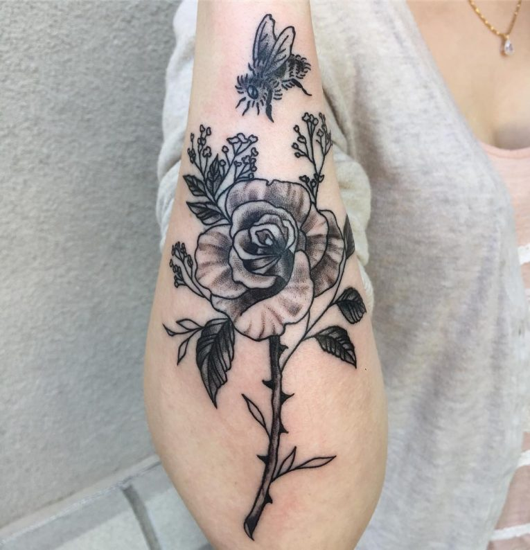 Roses Tattoo 77