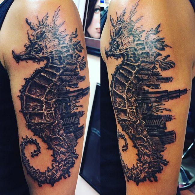 Seahorse Tattoo 72