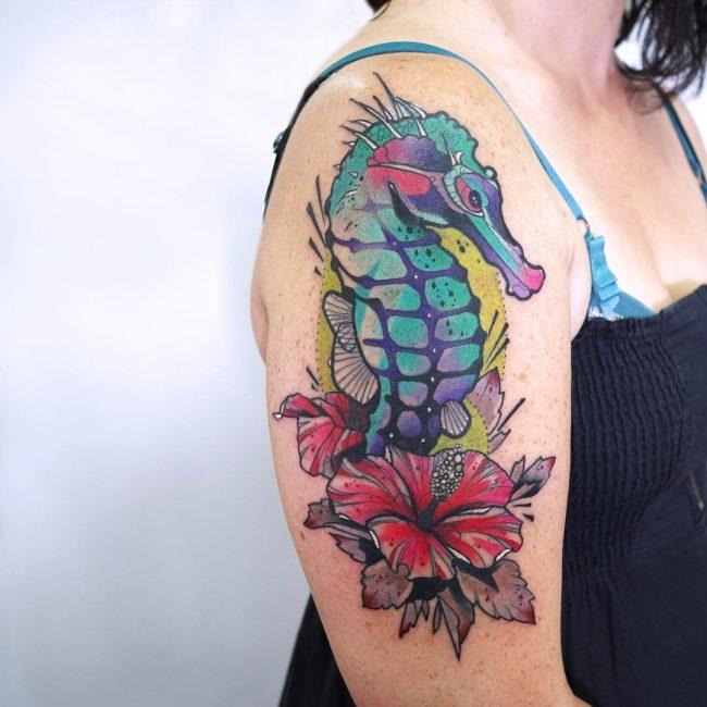 Seahorse Tattoo 73