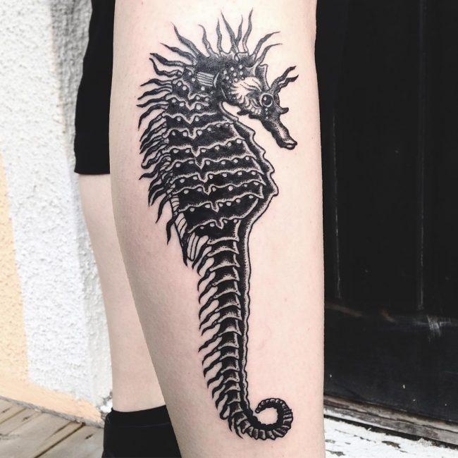 Seahorse Tattoo 74