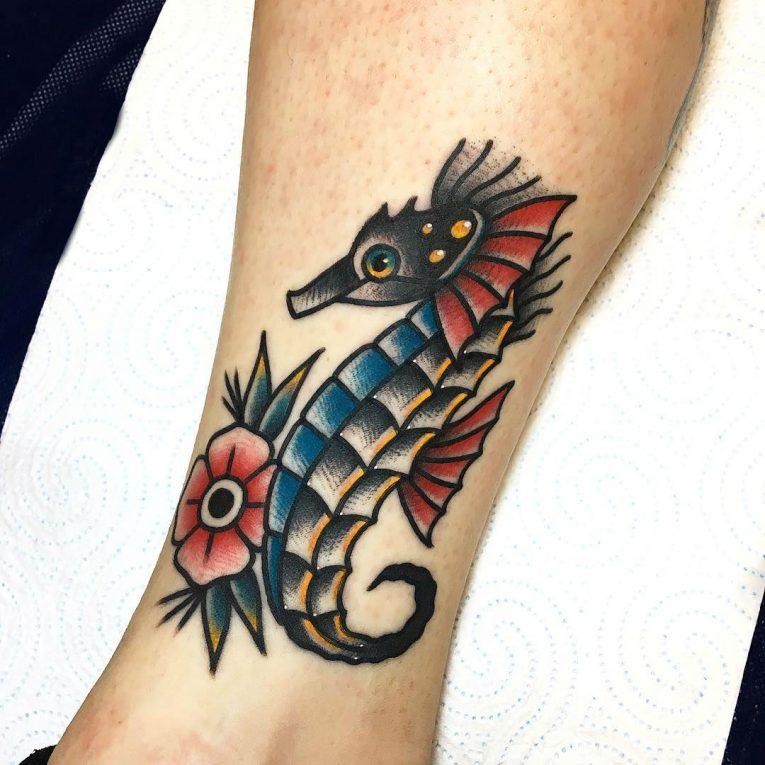 Seahorse Tattoo 84