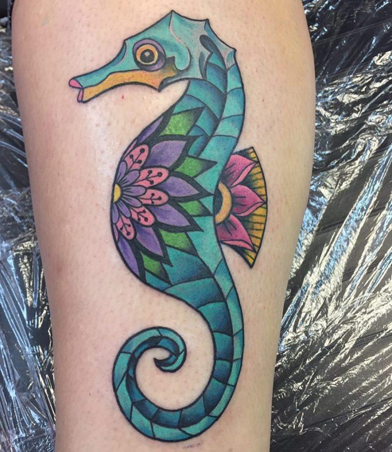 Seahorse Tattoo 89