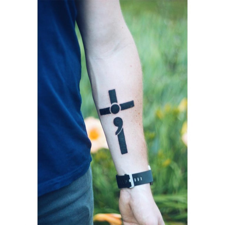 Semicolon Tattoo 57
