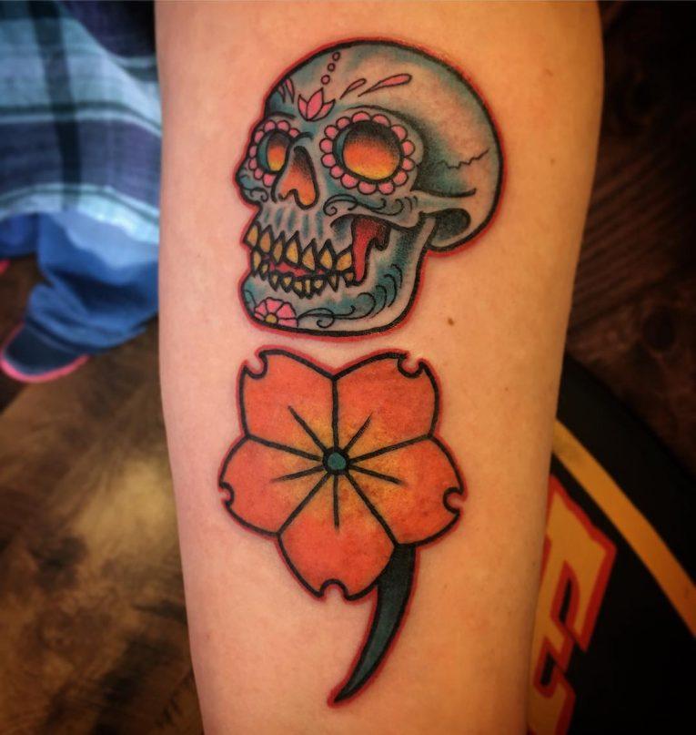 Semicolon Tattoo 62