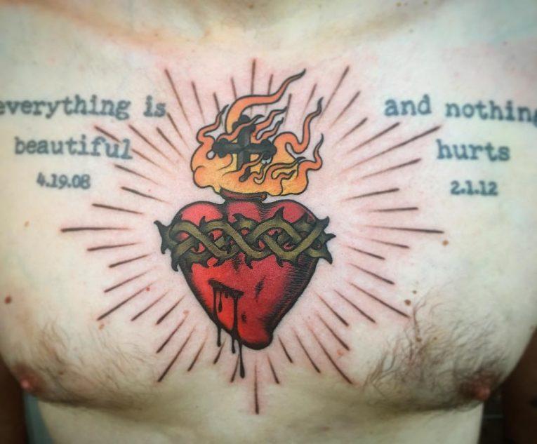 Small Cross Tattoo 49
