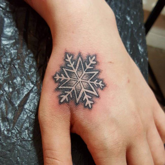 Snowflake Tattoo 57