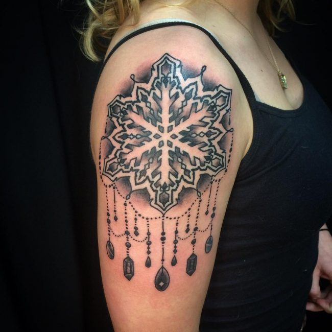 Snowflake Tattoo 65