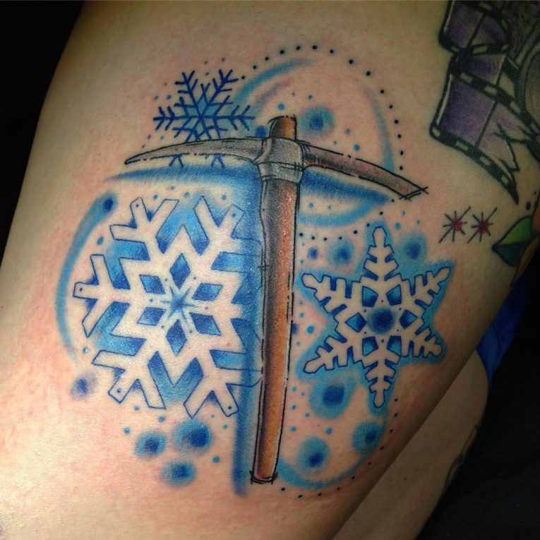 Snowflake Tattoo 68