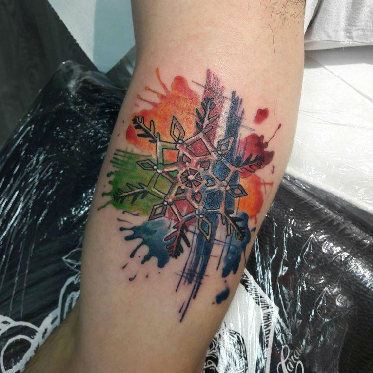 Snowflake Tattoo 70