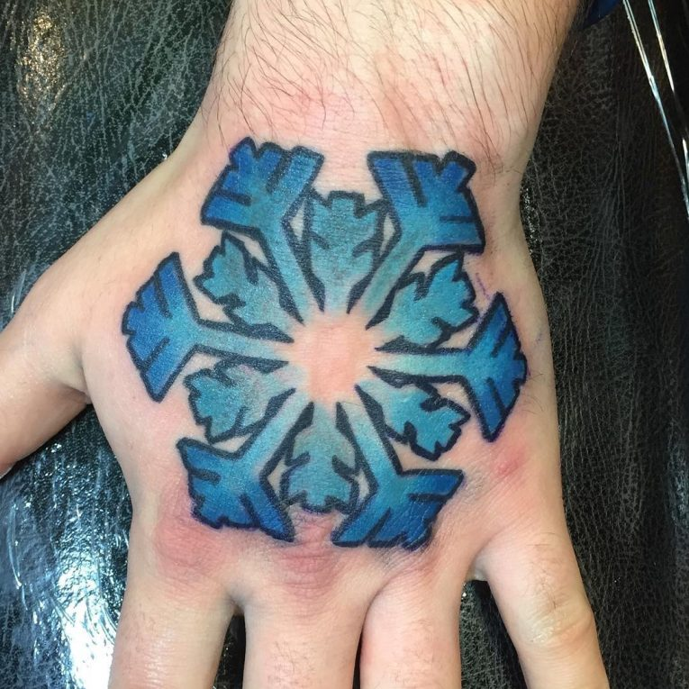 Snowflake Tattoo 74
