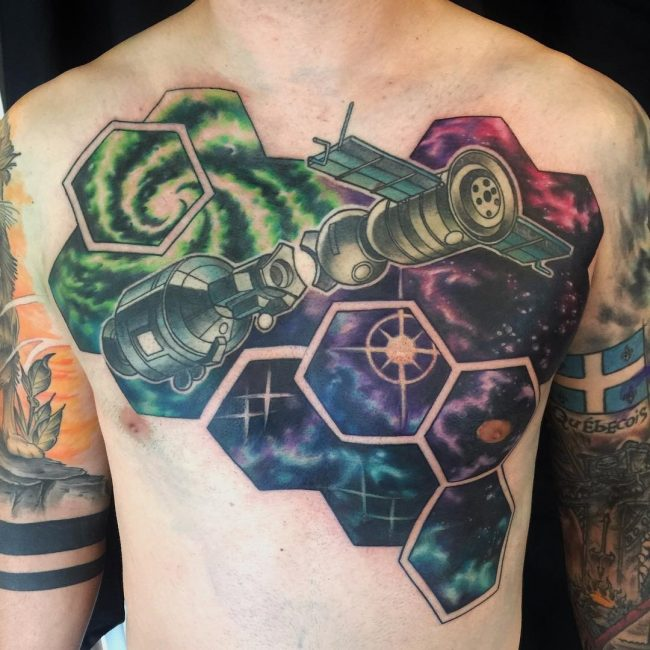 Space Tattoo 80