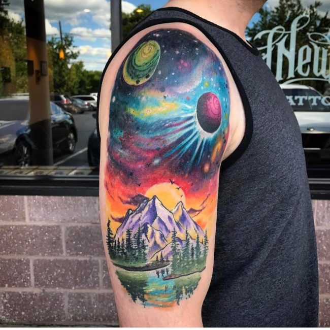 Space Tattoo 84