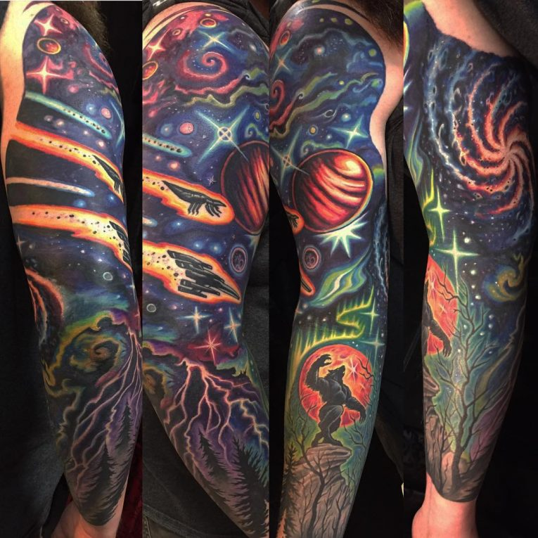 Space Tattoo 87