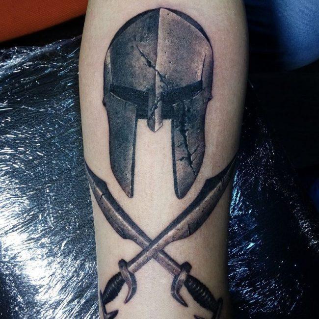 Spartan Tattoo 74