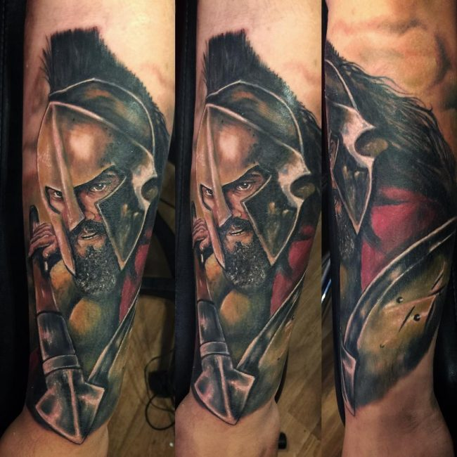 Spartan Tattoo 75