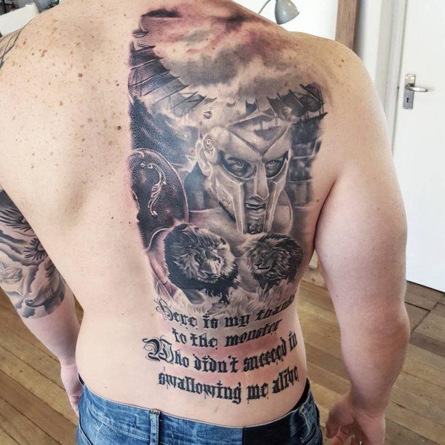 Spartan Tattoo 76
