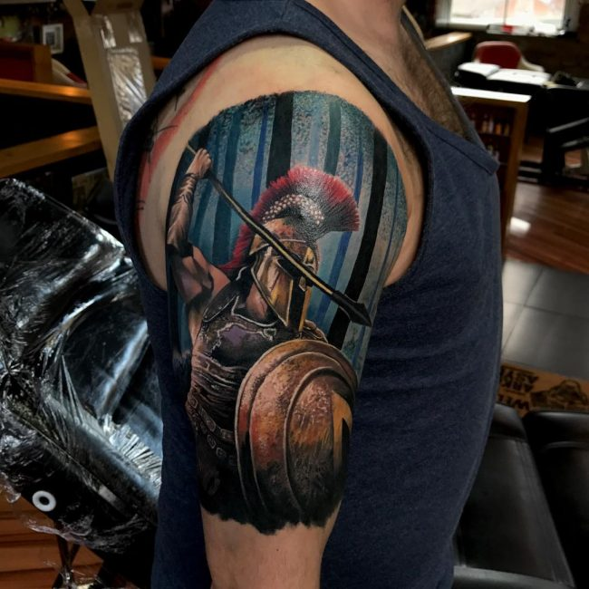 Spartan Tattoo 77