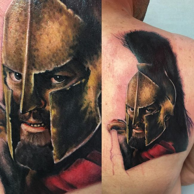 Spartan Tattoo 78