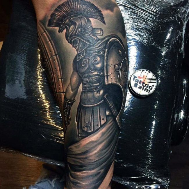 Spartan Tattoo 80