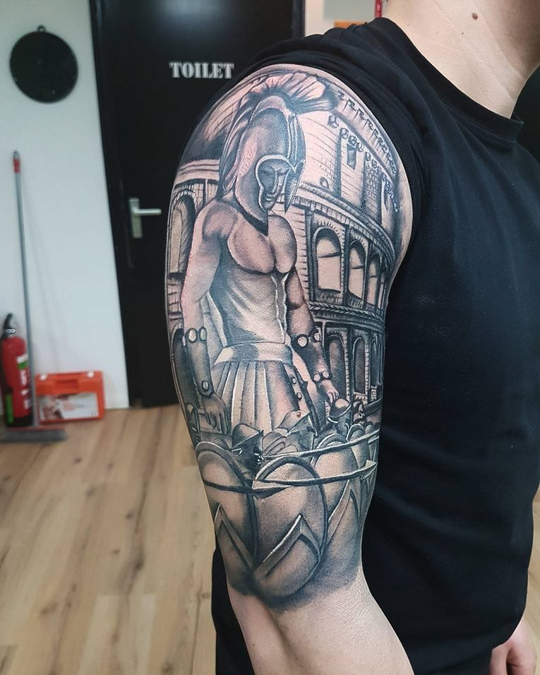 Spartan Tattoo 81