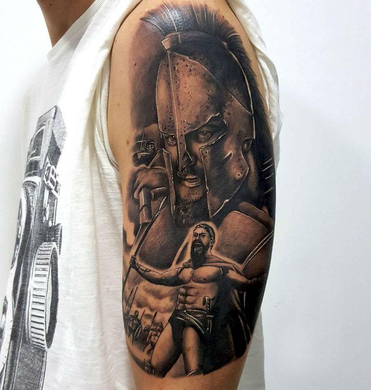 Spartan Tattoo 85