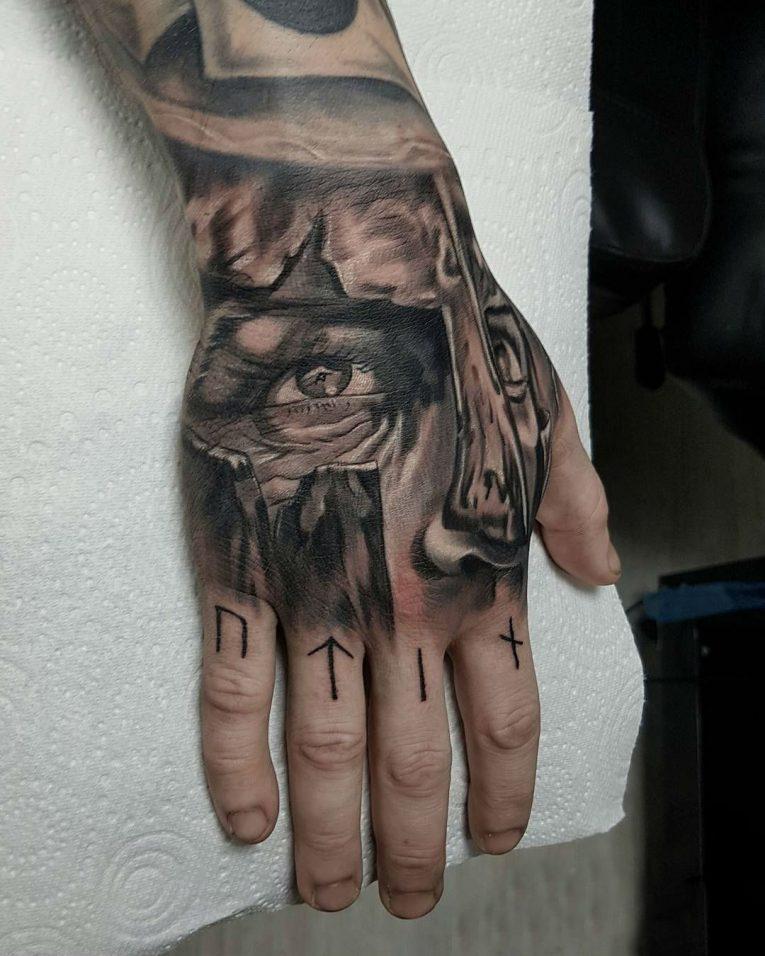 Spartan Tattoo 86
