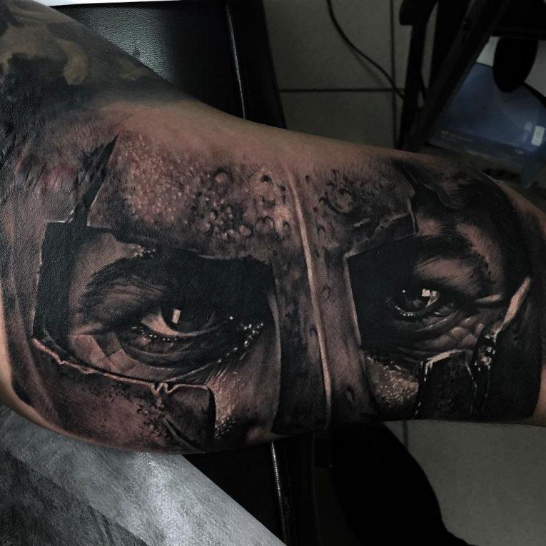 Spartan Tattoo 87