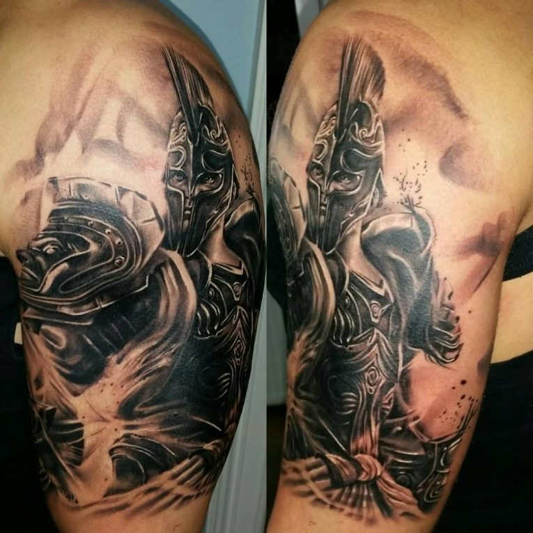 Spartan Tattoo 88