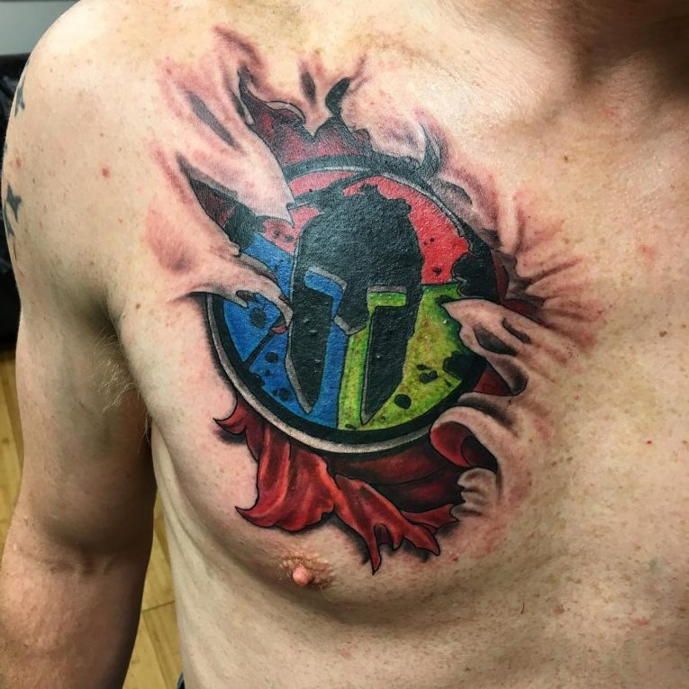 Spartan Tattoo 89