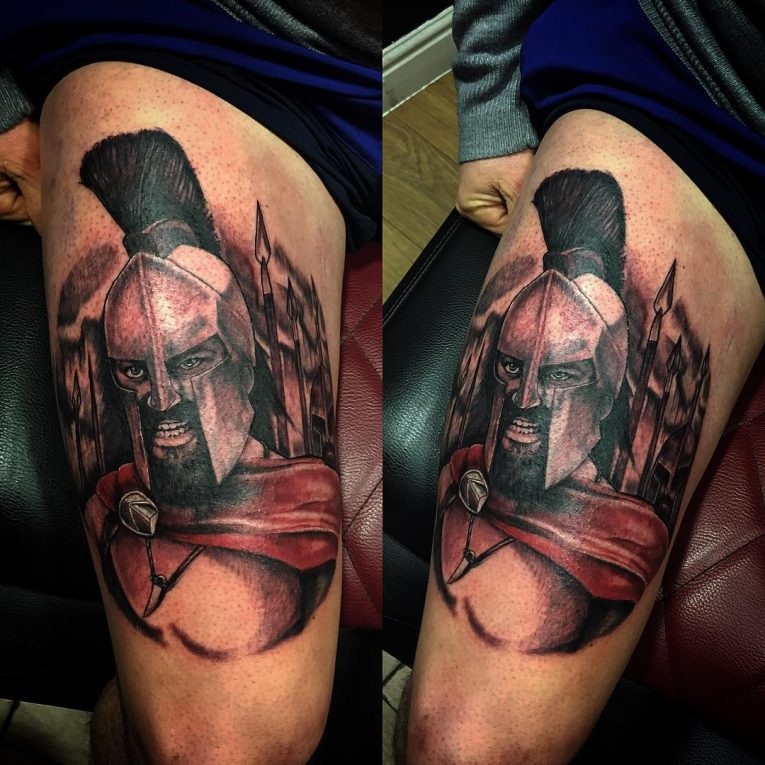 Spartan Tattoo 90