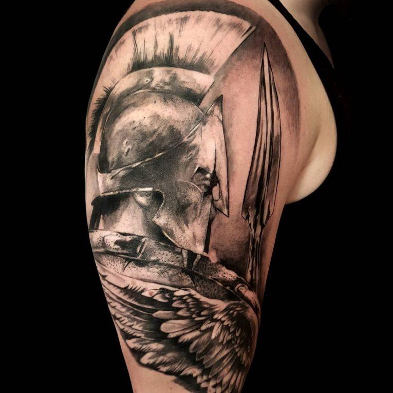 Spartan Tattoo 91