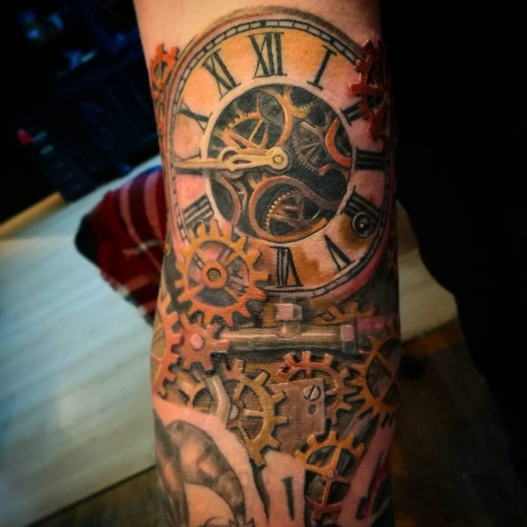 Steampunk Tattoo 100