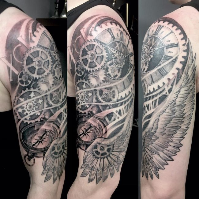 Steampunk Tattoo 84