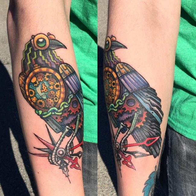 Steampunk Tattoo 87