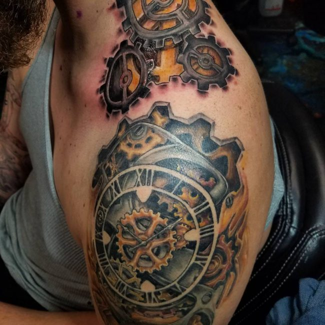 Steampunk Tattoo 90