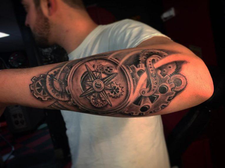 Steampunk Tattoo 96