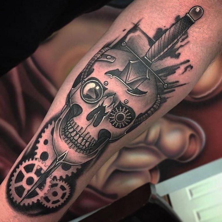 Steampunk Tattoo 97