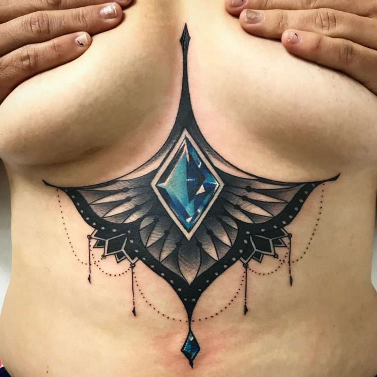 Sternum Tattoo 72